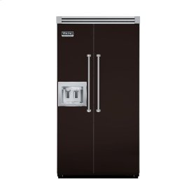 """Chocolate 42"""" Quiet Cool™ Side-by-Side with Dispenser - VISB Tru-Flush™ (42"""" wide)"""