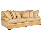 Casbah Leather/Fabric Sofa Product Image