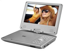 """9"""" Portable DVD Player-swivel Screen With Movies"""