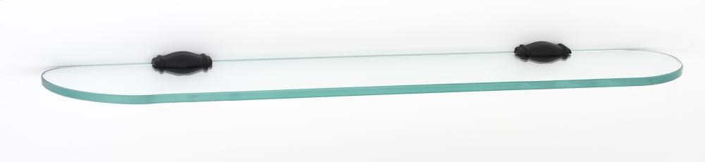 Charlie's Collection Glass Shelf A6750-24 - Bronze