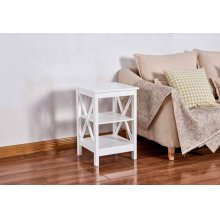 6605 White End Table