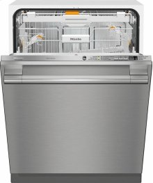 G 6665 SCVi SF AM Fully-integrated, full-size dishwasher with hidden control panel, 3D  cutlery tray and CleanTouch Steel panel
