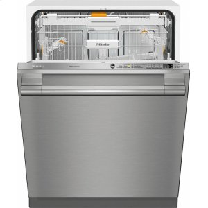 MieleG 6665 SCVi SF AM Fully-integrated, full-size dishwasher with hidden control panel, 3D+ cutlery tray and CleanTouch Steel panel