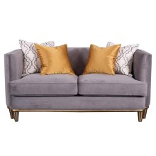 Grey Loveseat