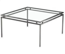 Superior Square Cocktail Table