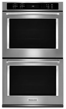 """30"""" Double Wall Oven with Even-Heat True Convection - Stainless Steel***FLOOR MODEL CLOSEOUT PRICING***"""
