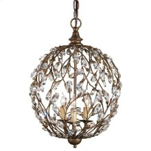 Crystal Bud Cupertino Orb Chandelier
