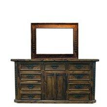 Brown Fine Laquer TV Dresser