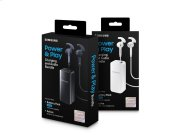 In-Ear Headphones + Black 2.1A Battery Pack Product Image