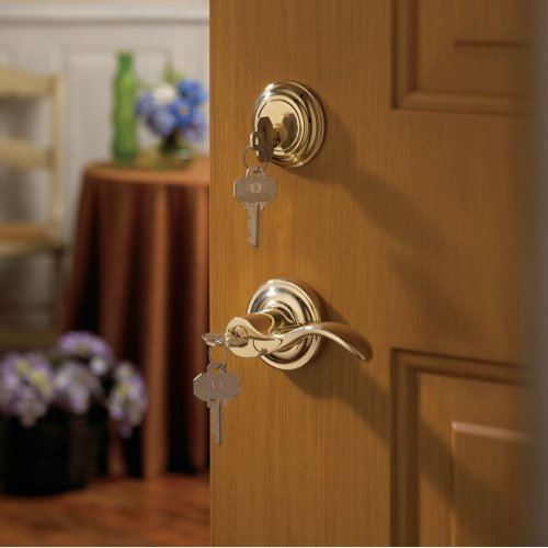 Lifetime Polished Brass 5255 Wave Lever