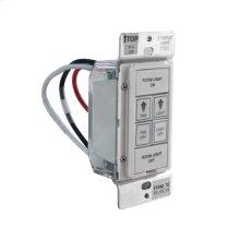 LinkLogic Remote Wall Control - White