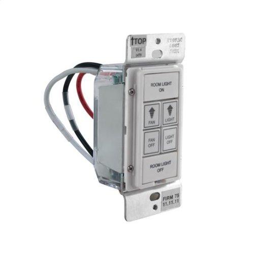 LinkLogic™ Remote Wall Control - White