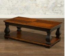Rectangular Cocktail Table w/ Shelf