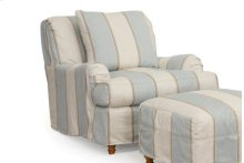 Sunset Trading Seacoast Slipcovered Chair - Color: 479541