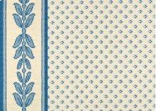 Bantry - Dresden Blue on White 0105/0003