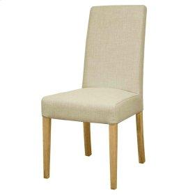 Hartford Fabric Chair NWO Leg, Linen