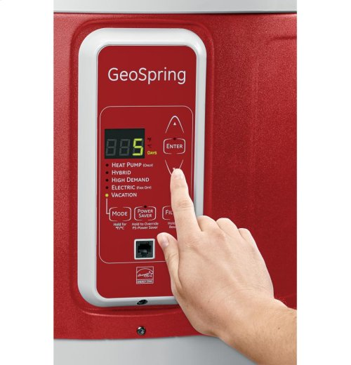 GeoSpring hybrid electric water heater