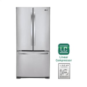 "Ultra-Large Capacity 3-Door French Door Refrigerator with Smart Cooling (Fits a 33"" Opening) Product Image"