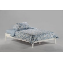P-Series Basic Bed in White Finish