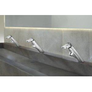 M-PRESS chrome one-handle metering lavatory faucet