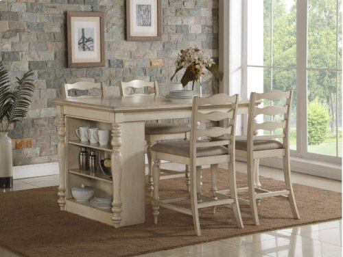 Nantucket Counter Island Dining Table