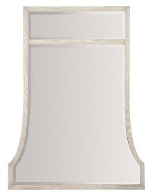 Domaine Blanc Mirror in Domaine Blanc Dove White