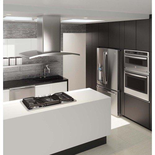 "GE Profile™ Series 36"" Island Hood - CLEARANCE ITEM"