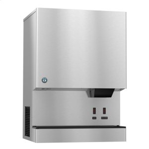 HoshizakiDCM-752BAH-OS, Cubelet Icemaker, Air-cooled, Hands Free Dispenser, Built in Storage Bin