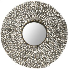 Jeweled Chain Mirror - Natural