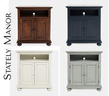 Stately Manor Power Accent Chest - Earl Grey