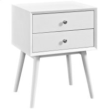 Dispatch Nightstand in White