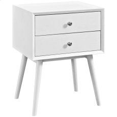 Dispatch Nightstand in White Product Image