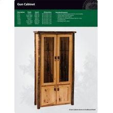 Hickory Gun Cabinet