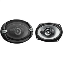 """drvn DR Series Coaxial Speakers (6"""" x 9"""", 500 Watts Max, 3 Way)"""