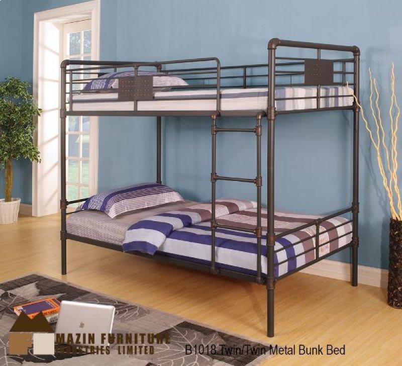 B1018 In By Mazin Furniture In Waterloo On Twin Twin Bunk Bed