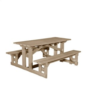 T52 Rectangular Picnic Table