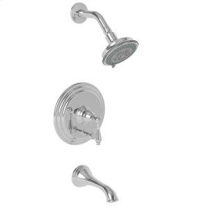 Gun Metal Balanced Pressure Tub & Shower Trim Set