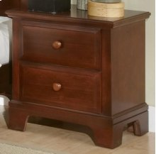 VAUGHAN BASSETT BB5-224 Hamilton Franklin Collection 2-Drawer Night Stand