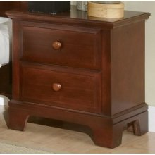 Hamilton/Franklin - 2-Drawer Night Stand