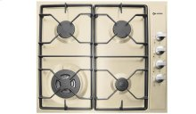 "Antique White 24"" Gas 4 - Burner Side Control"