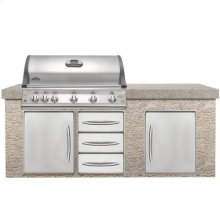 Built-in Grills BIM730RBI Mirage Series Built-in Grill- NG STAINLESS