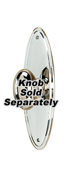Escutcheon A1225-3 - Polished Nickel