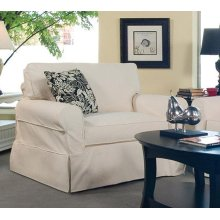 Bedford Chair with Slipcover
