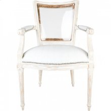 Marie-Antoinette White Arm Chair