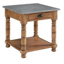 Bench Bobbin End Table