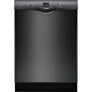 24' Recessed Handle Dishwasher 300 Series- Black Product Image