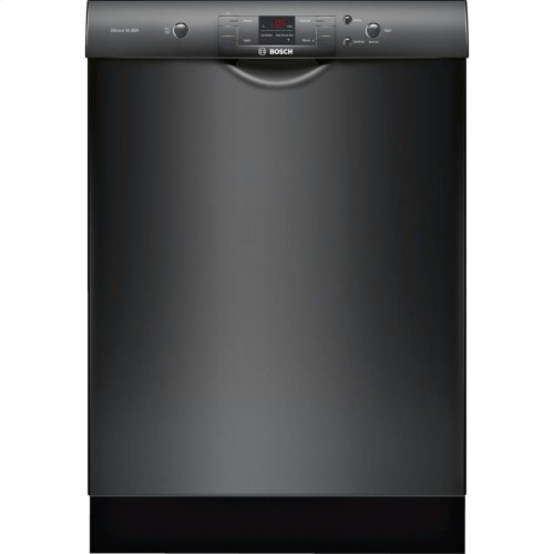 24' Recessed Handle Dishwasher 300 Series- Black