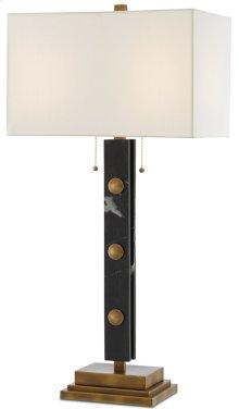 Khalil Black Table Lamp