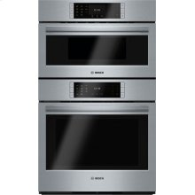 Benchmark® built-in double oven 30'' Stainless steel HBLP752UC