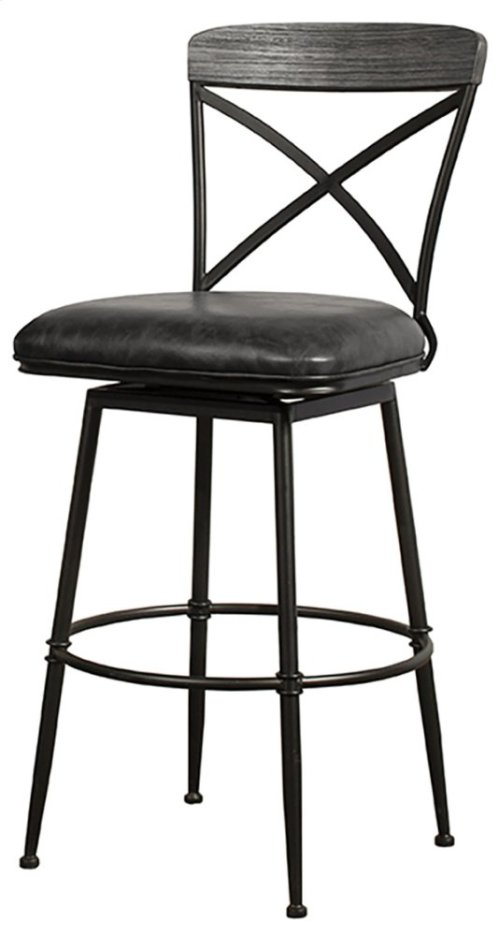 Decker Commercial Grade Swivel Bar Stool